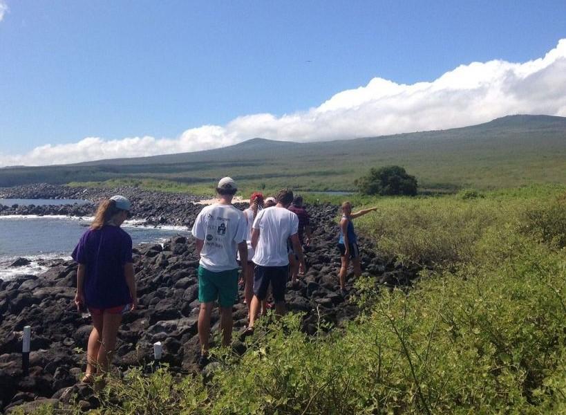 galapagos singles hiking tour