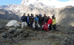 hiking and trekking on kilimanjaro climb trip