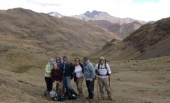 singles travel peru inca trail hike lares route