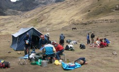 singles inca trail trek in peru lares trail