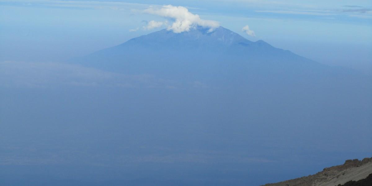 Views of Mt Meru