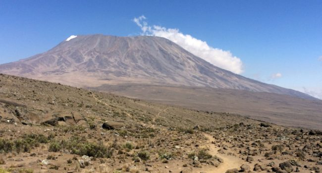 Kilimanjaro Marathon – 26.2 mile Trail Race to the Summit